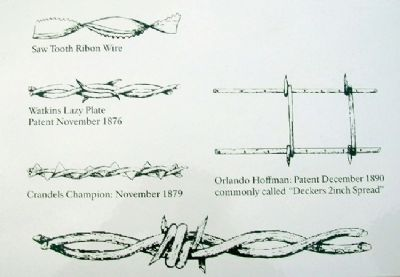 Is All Barbed Wire the Same? Marker Detail image. Click for full size.
