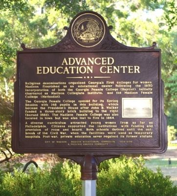 Advanced Education Center Marker image. Click for full size.