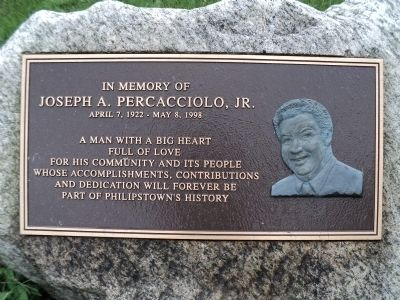 Joseph A. Percacciolo, Jr. Marker image. Click for full size.