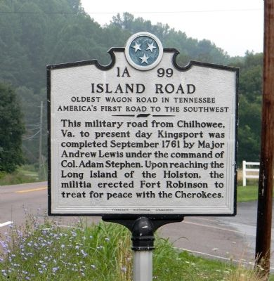 Island Road Marker image. Click for full size.