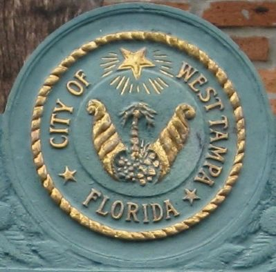 Seal of the City of West Tampa image. Click for full size.