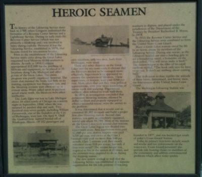 Heroic Seamen Marker image. Click for full size.