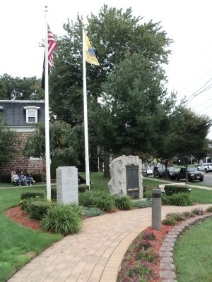 Wood Ridge Veterans Monument image. Click for full size.