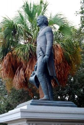 Moultrie Statue image. Click for full size.