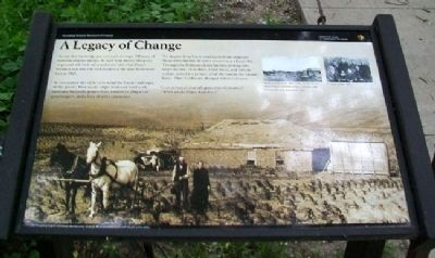 A Legacy of Change Marker image. Click for full size.