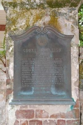 George Eveleigh House Marker image. Click for full size.