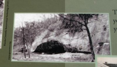 Marker Photo - - The Cave image. Click for full size.
