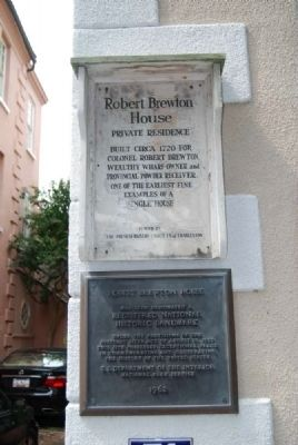 Robert Brewton House Marker image. Click for full size.