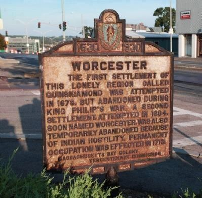 Worcester Marker image. Click for full size.