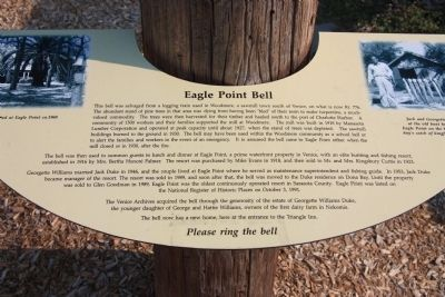 Eagle Point Bell Marker image. Click for full size.