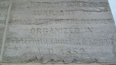 Civil War and Spanish War Memorial Detail image. Click for full size.