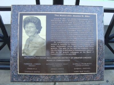 The Honorable Joanne H. Alter Marker image. Click for full size.