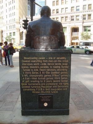 Jack Brickhouse Marker (Rear) image. Click for full size.