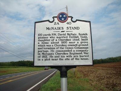 McNair's Stand Marker image. Click for full size.