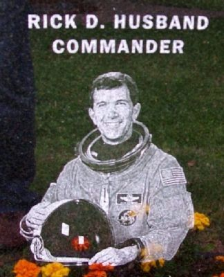 Astronaut Rick D. Husband image. Click for full size.