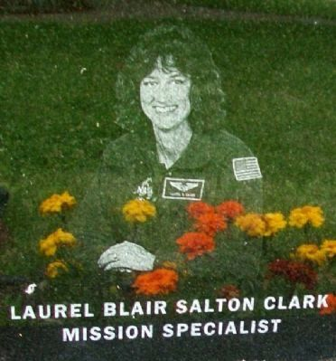 Astronaut Laurel Clark image. Click for full size.