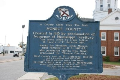 A County Older Than The State Marker (Front) image. Click for full size.