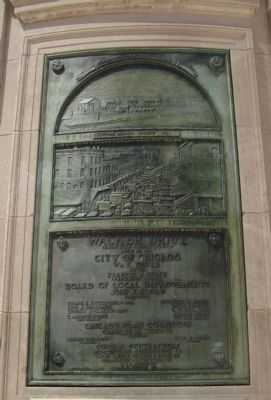 Wacker Drive Marker image. Click for full size.