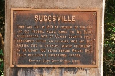 Suggsville Marker image. Click for full size.