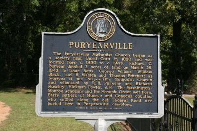 Puryearville Marker image. Click for full size.