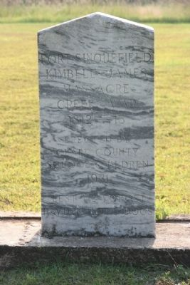Fort Sinquefield Marker image. Click for full size.