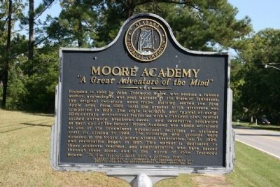 Moore Academy Marker image. Click for full size.