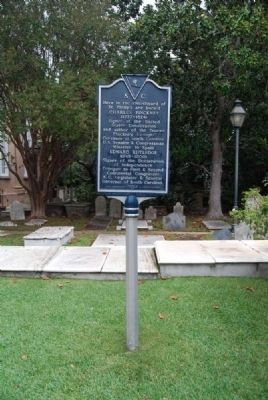 St. Philip's Church Marker image. Click for full size.