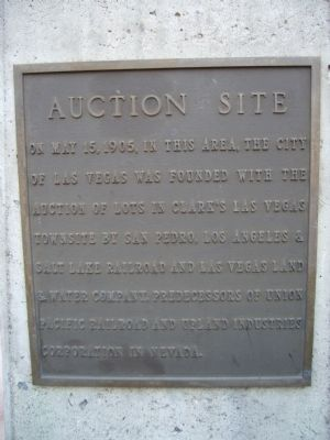 Auction Site Marker image. Click for full size.