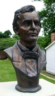 Bust of Abraham Lincoln image. Click for full size.