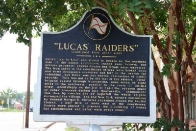 """Lucas Raiders"" Marker (Reverse) image, Touch for more information"
