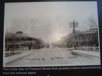 Photo on the Fremont Street Marker image. Click for full size.