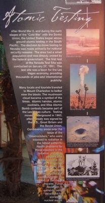 Atomic Testing Marker image. Click for full size.