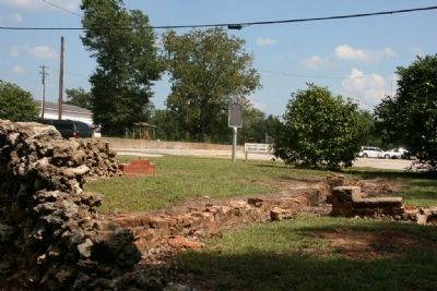 Site of the Faulk House. image. Click for full size.