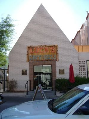 First Church Built in Las Vegas Building image. Click for full size.
