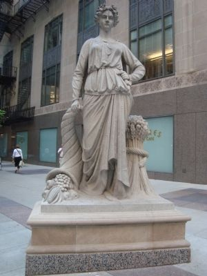 The Chicago Board of Trade's Statue of Agriculture image. Click for full size.