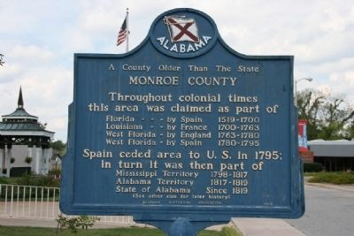 A County Older Than The State Marker (Reverse) image. Click for full size.