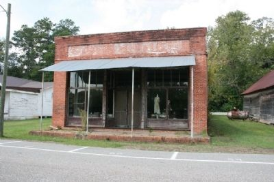Old brick store on Railroad Street. image. Click for full size.