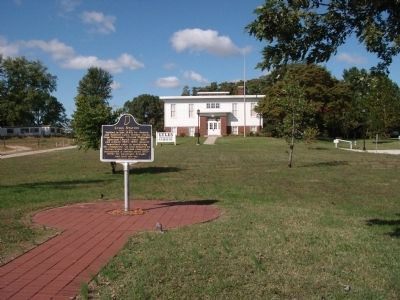 Wide View - - Lyles Station Marker image. Click for full size.