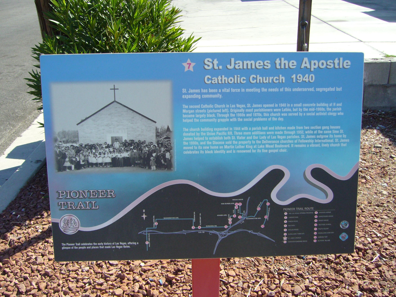 St. James the Apostle Marker