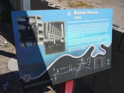 Binion House Marker image. Click for full size.