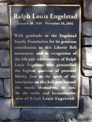 Ralph Louis Engelstad Marker image. Click for full size.