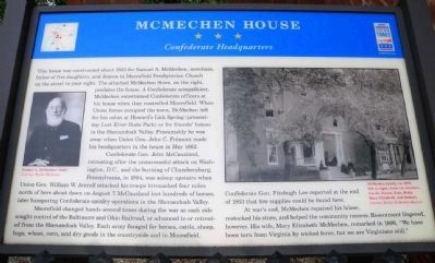McMechen House Marker image. Click for full size.