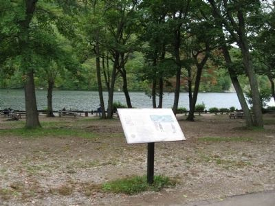 Fighting at Hessian Lake Marker image. Click for full size.
