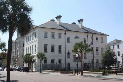 County of Charleston Historic Courthouse seen from Meeting Street image. Click for full size.