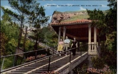 Stairway to Mount La Grange image. Click for full size.