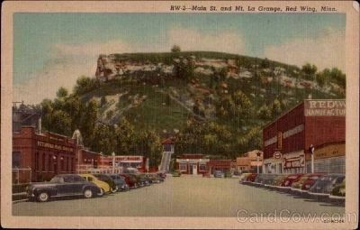 Main St. and Mt. La Grange image. Click for full size.