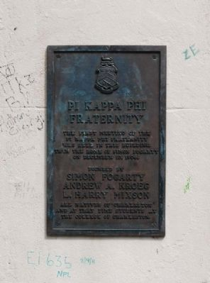 Pi Kappa Phi Fraternity Marker image. Click for full size.