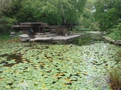 Alfred Caldwell Lily Pool image. Click for full size.