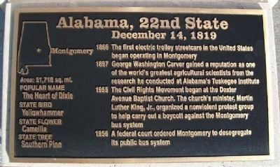 Alabama, 22nd State Marker image. Click for full size.