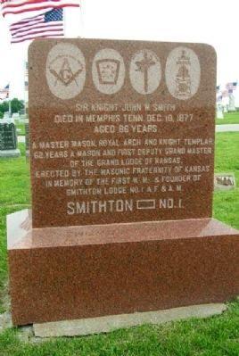Smith / Vanderslice Monument (front) image. Click for full size.
